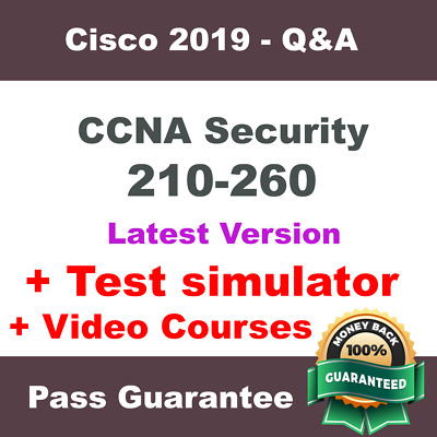 Cisco CCNA SECURITY Exam Dump for 210-260 Exam Q&A PDF + VCE (2018 Verified)