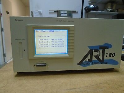 Panasonic Levear VP-7612A Audio Radio Tester (Art 2)  (Works!)