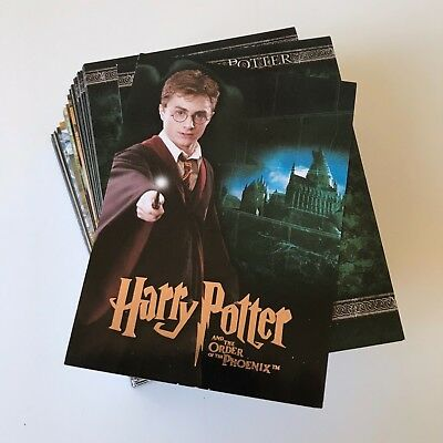 New! HARRY POTTER & THE ORDER OF THE PHOENIX 90-Card BASE SET Artbox COMPLETE!