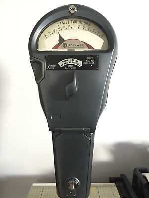 Parking meter (ROCKWELL) great working condition