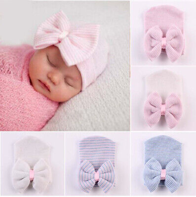 NEWBORN BABY BEANIE 0-6 Months Baby Hats 100% Cotton Hats