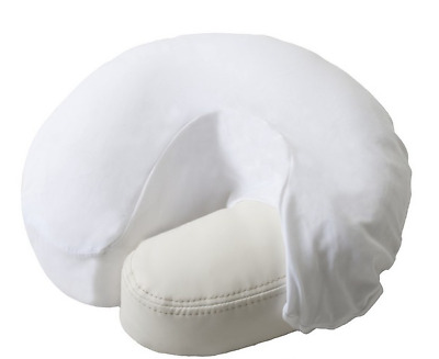 Face Rest Cover - Fitted - Microfibre - White