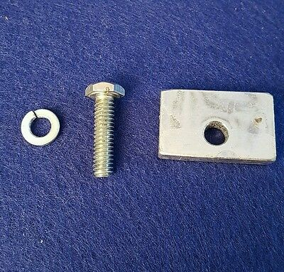 Cissell Pants topper, PT-63, Stop Slide with mounting screw -New