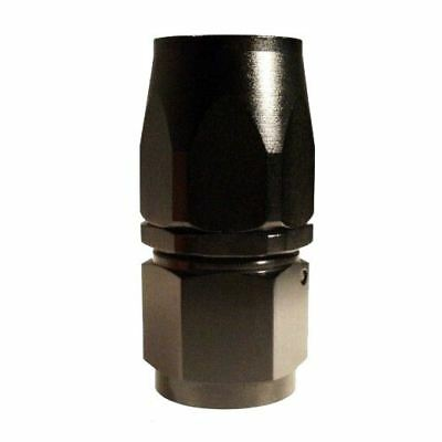 AN-6 (AN6) STRAIGHT FastFlow Stealth Black Hose Fitting K2L2