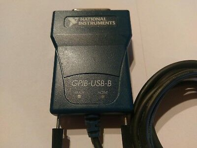 National Instruments NI GPIB-USB-B, IEEE 488 Interface Adapter Controller