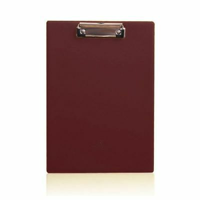 Leather A4 Foolscap Conference File Writing Clipboard Folder Document Holde F0N6