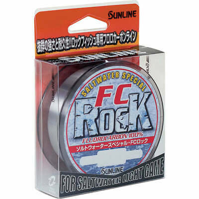 Sunline FC Rock Fluorocarbon Fishing Leader Line 100% Fluro Carbon - Choose Size