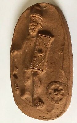 Antique Royal Doulton Lambeth Terracotta Army Plaque c1902 - c1922