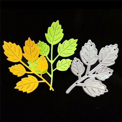 1pc Delicate leaf  Metal Cutting Dies DIY Scrapbooking Paper Cards Crafts  X