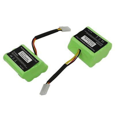 2 x 7.2V Battery For Neato XV-11 XV-12 XV-14 XV-15 XV-21 Signature Pro Robo O2B3