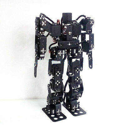 17DOF Biped Robotic Educational Robot Kit with MG996R Servos & PS2 Controller