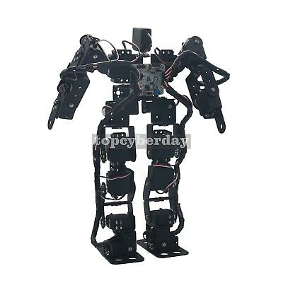 17DOF Biped Robotic Educational Robot Humanoid Robot Kit Servo Bracket Ball Bear