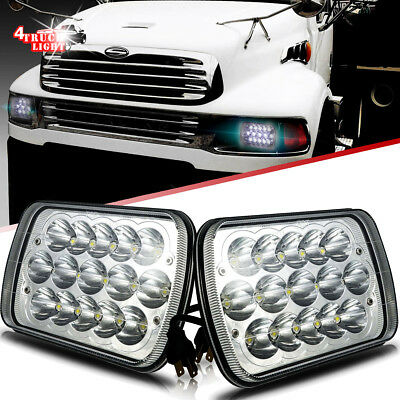 DOT Approved LED Headlight Headlamp Upgrade Hi/Lo Beam for Sterling A9500 Trucks
