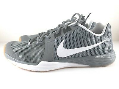 huge discount 50e1a c0642 Nike Train Prime Iron DF Training Shoes 832219-010 Grey White Men s Size  10.5