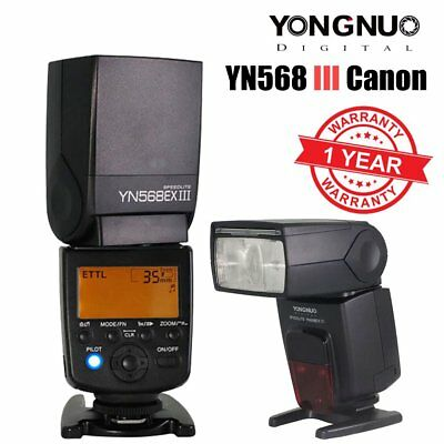 Yongnuo YN568EX III Wireless HSS E-TTL AF Assist Flash Speedlite for Canon UK