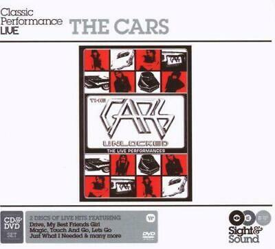 THE CARS - CLASSIC PERFORMANCE LIVE UNLOCKED CD & DVD (New/Sealed)Inc Hits Drive