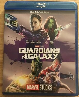 Marvel's Guardians Of The Galaxy Blu Ray Free Shipping Disney