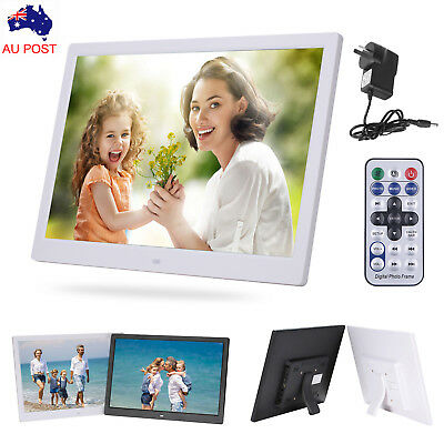 2018 12''LED HD Electronic Digital Photo Frame Picture Photography MP4 PlayerMP3