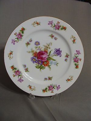 1 Harmony House China Dinner Plate In The Dresdania Pattern, Made In Japan, 1954