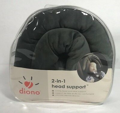 Diono 2-in-1 Baby Head Support Pillow Car Seat Nursing