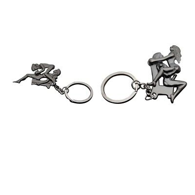 879c2b06bb5 ADULTS FUN SEXY Sex Position Moveable Metal Key Ring Keychain Keyfob Gift