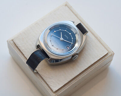 Women's Watches ZARYA New Old Stock With Box Soviet USSR 22 Jewels Exc!