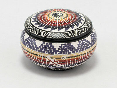 Multi-Colored, Awesomely Hand-Painted Jewelry Box by Yabeny