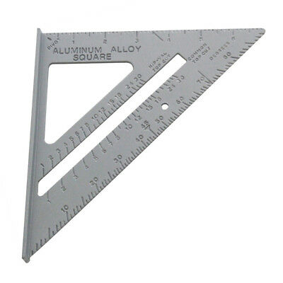 6'' Aluminium Alloy Roofing Rafter Square Triangle Angle Guide Amtech P3396