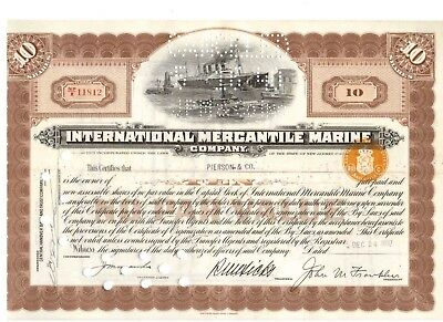 IMM International Mercantil Marine 1937 Titanic White Star Line
