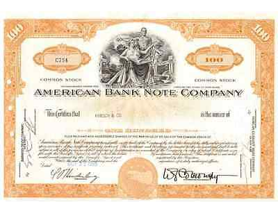 American Bank Note Company 1963