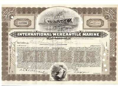 IMM International Mercantil Marine 1922 Titanic White Star Line