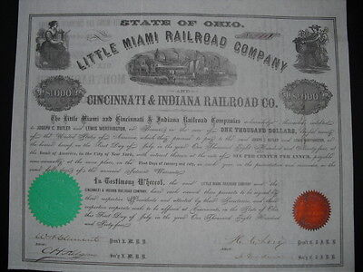 Little Miami Railroad  Cincinnati & Indiana Railroad  1864