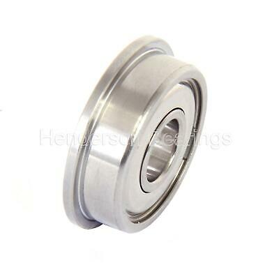 """DDRIF1438ZZRA5P24LY121, SFR6ZZ NMB Stainless Steel Flanged Bearing 3/8x7/8x9/32"""""""