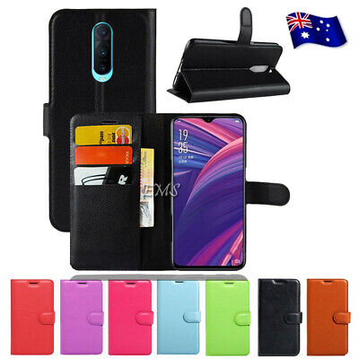 Wallet Leather Flip PU Case Cover For Oppo R15 R17 Pro A57 A73 A77 AX5 R11S Plus