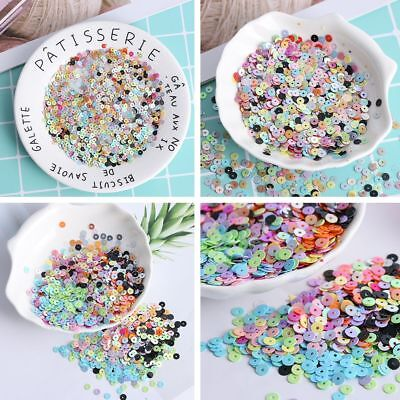 1000pcs/bag Decor Shiny Loose Sequin Sewing Paillette Wedding Faceted Bead