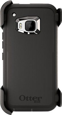 Otterbox Defender series case For HTC One M9 + Holster Clip Black New