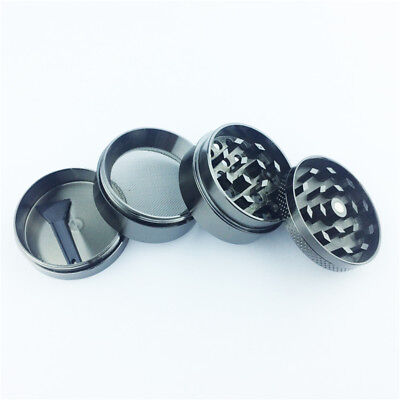 4 Layers Magnetic 1.57 Inch Tobacco Herb Grinder Spice Aluminum With Scoop