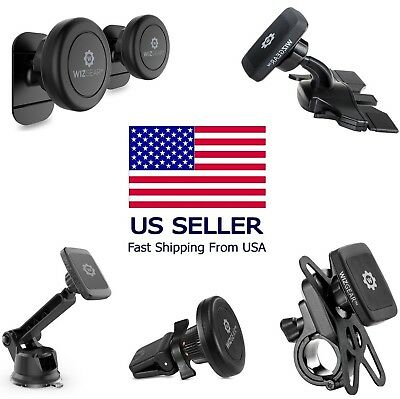 Magnetic Phone Pack Stick On Dashboard Magnetic Car CD Mount Bicycle Holder