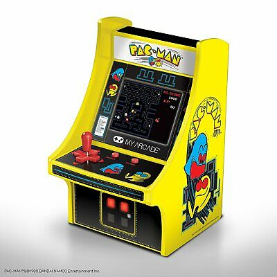 MY ARCADE BANDAI NAMCO PAC-MAN Micro Arcade Machine Portable Handheld Video Game