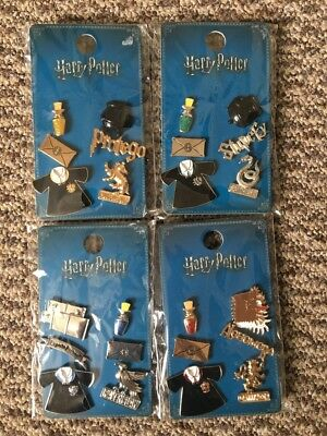 Harry Potter Pins Badges Slytherin Hufflepuff Gryffindor Ravenclaw characters