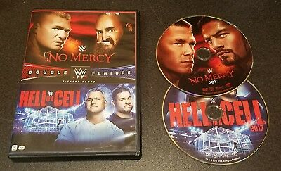 WWE No Mercy 2017 & Hell in a Cell 2017 (DVD, 2-Disc Set) wrestling ppv events