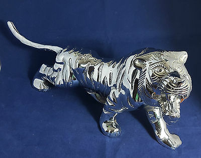 Beautiful Large Decorative Heavy Metal Tiger (Weight - 2 kg)