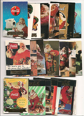 1993 1994 1995 Tuff Stuff Coca Cola Collection Set Of40 Cards S1 To S40