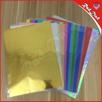 Gold Silver Red Hot Stamping Foil Paper Laminator Laminating Transfer on: