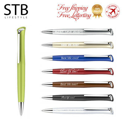 1Pcs Promotional Personalized Laser Custom Engraved Ball Pen Company Gift