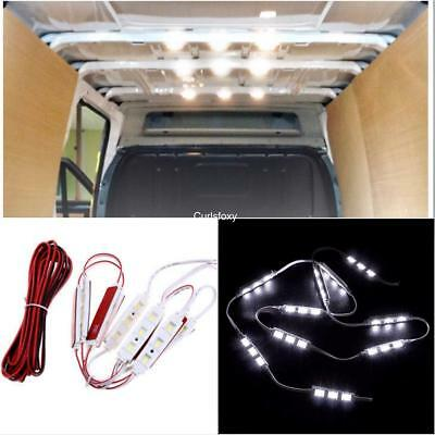 12v Car LED LIGHT Kit 30 LEDs Interior Ultra Bright For SWB LWB Van Transit VW