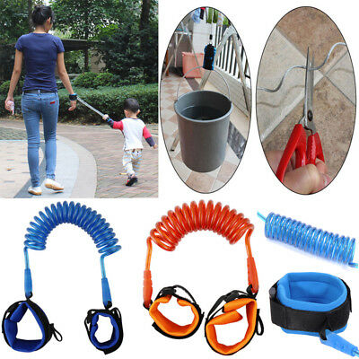 Baby Kid Child Anti-Lost Safety Harness Strap Wrist Leash Walking Band Hand Belt