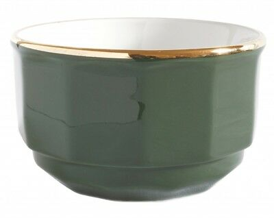 APILCO GREEN and Gold French Bistro Ware Coffee Cup and Saucer ...