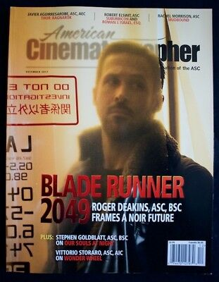 Blade Runner 2049 American Cinematographer Magazine