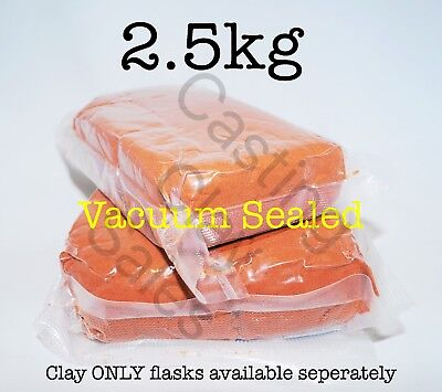 2.5kg Delft Style Casting Clay Sand, For Gold Silver Metal Impression Foundry